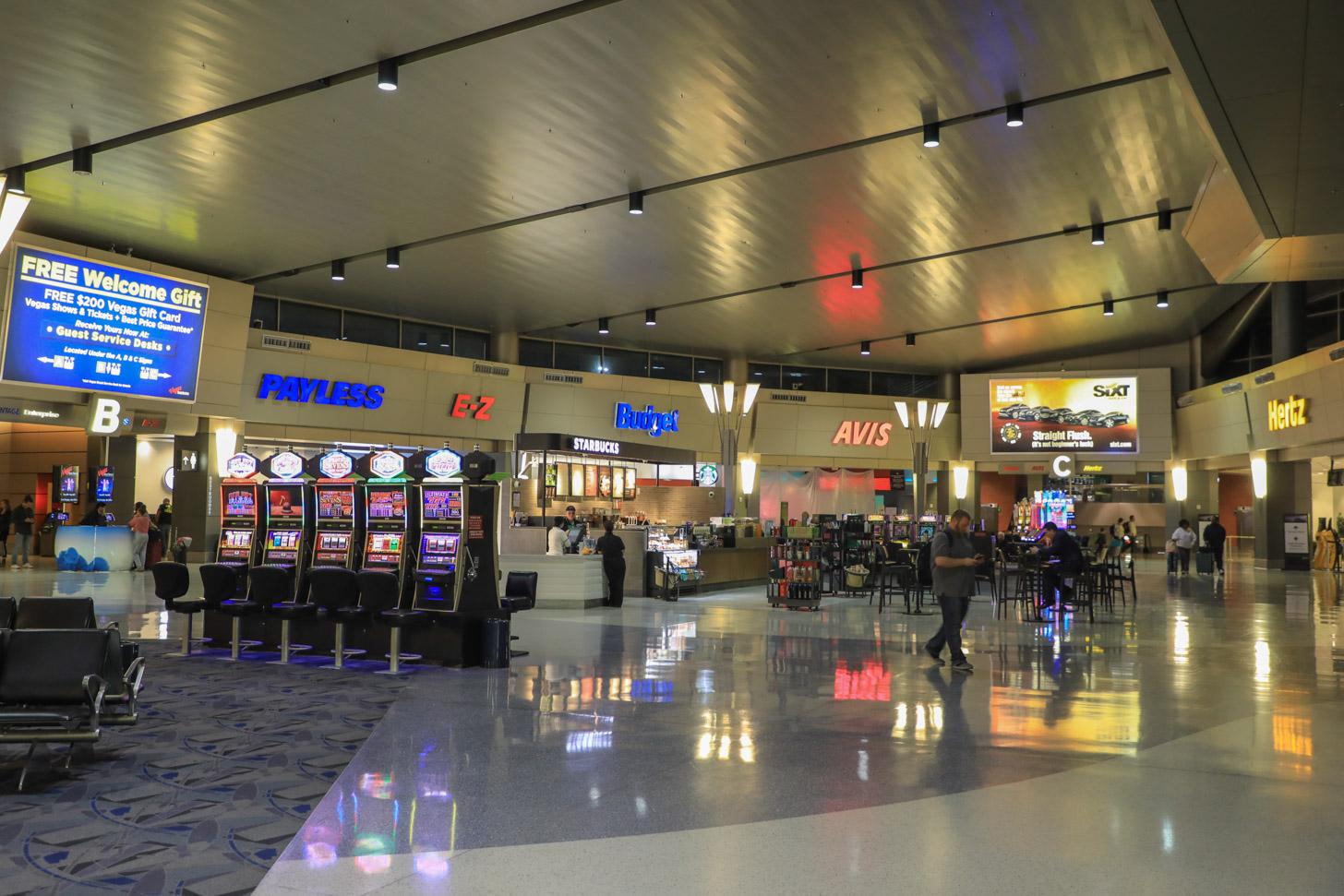 huurauto's in Las Vegas