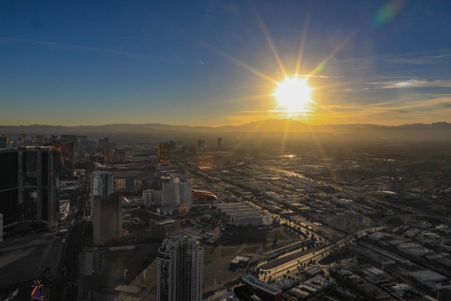 weer in Las Vegas