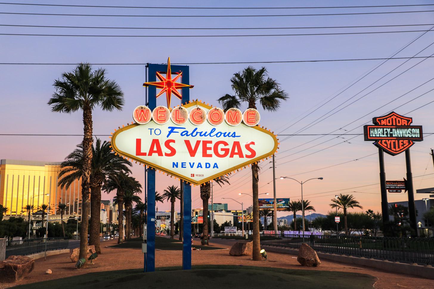 Las Vegas bezoeken